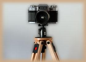 Kamera auf Stativ